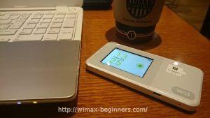 WiMAXルーターW03の実機を入手!WX02との完全比較