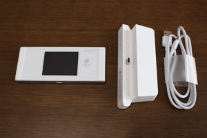 Speed Wi-Fi NEXT W05 のお届けイメージ